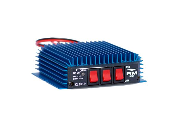 R.M. KL203_P MOBILE AMPLIFIER 100W MAX WITH PREAMP